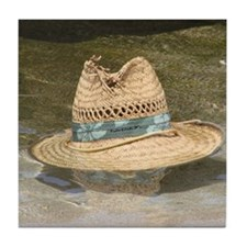 Molokai Hat Lost Tile Coaster