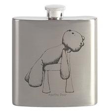 Apathy Bear Flask