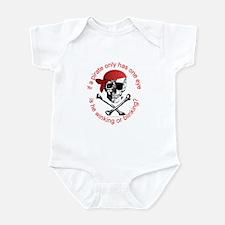 Pirate Humor Infant Bodysuit