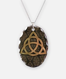 wicca journal cover Necklace