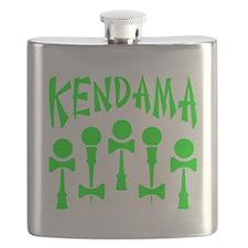 green Kendama x5 b Flask