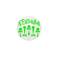 green Kendama x5 b Mini Button
