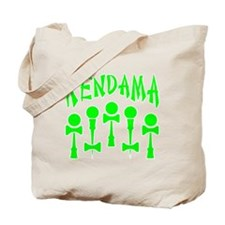 green Kendama x5 b Tote Bag