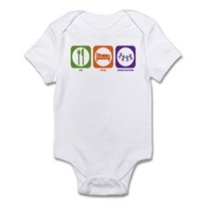 Eat Sleep Social Services Infant Bodysuit