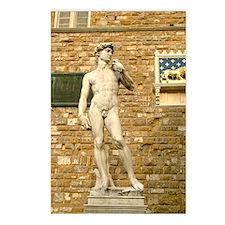 Davide Postcards (Package of 8)