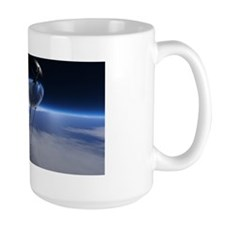 Sputnik in Orbit Mug