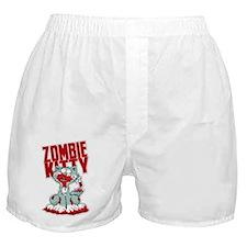 Zombie Kitty Boxer Shorts