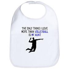 Volleyball Aunt Bib