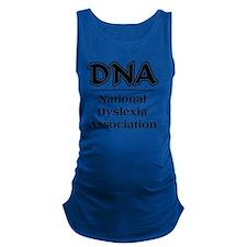 DNA National Dyslexic Dyslexia  Maternity Tank Top