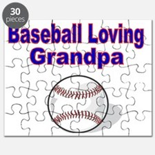 Baseball Loving Grandpa Puzzle