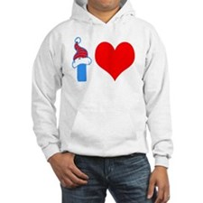 I Love Base Jumping Design Hoodie