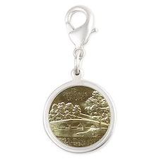 Battle of Antietam Anniversary Silver Round Charm