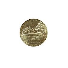 Battle of Antietam Anniversary Silver  Mini Button