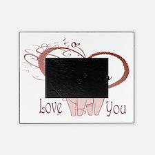 Love You, Cute Piggy Art Picture Frame