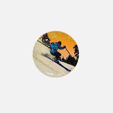 skier1 Mini Button