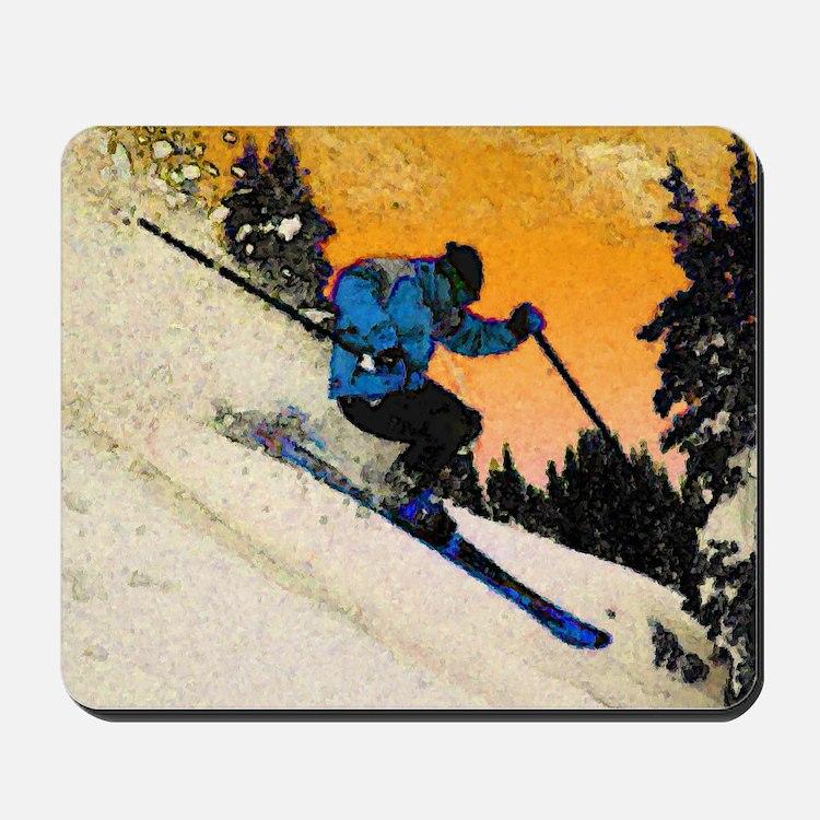 skier1 Mousepad