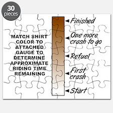 Dirt Gauge Dirt Bike Motocross Funny Shirt Puzzle