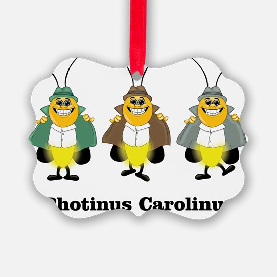 Three Photinus Carolinus Ornament