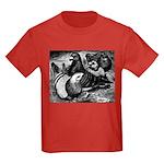 Giant Homer Pigeons Kids Dark T-Shirt