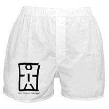 Pull yourself together stick man Boxer Shorts