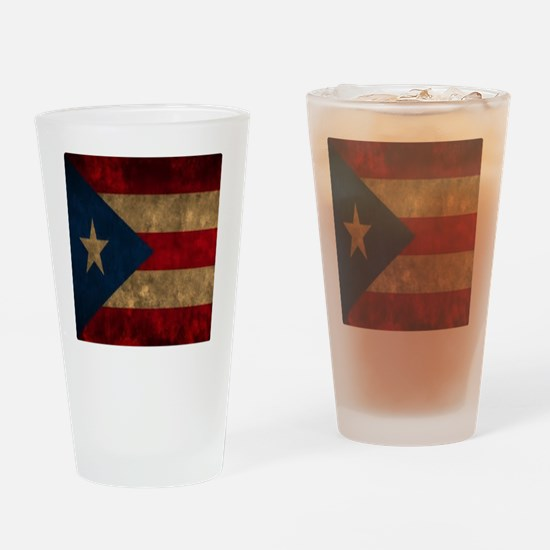 Puerto Rico Drinking Glass