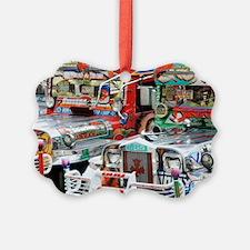 Jeepneys Ornament