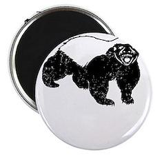 Honey Badger Never Gives Up Magnet