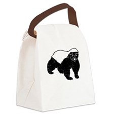 Honey Badger Never Gives Up Canvas Lunch Bag