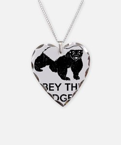 Obey The Badger Necklace
