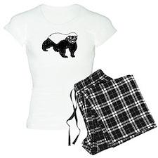 Honey Badger Never Gives Up Pajamas