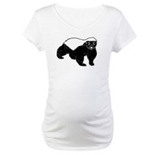 Honey Badger Never Gives Up Shirt