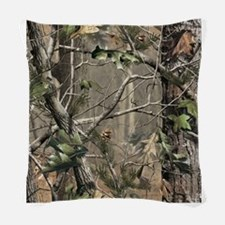 Camo Woven Throw Pillow