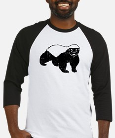 Honey Badger Is Just Crazy Baseball Jersey
