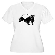 Honey Badger Is J T-Shirt