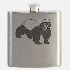 Honey Badger Is Just Crazy Flask