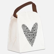 Fruit of the Spirit Canvas Lunch Bag