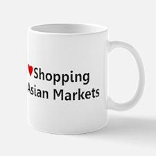 I love Shopping at Asian Markets Mug