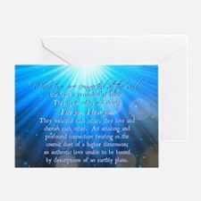 Soul Connections - Cosmic Greeting Card