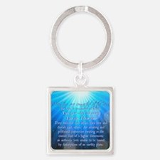 Soul Connections - Cosmic Square Keychain
