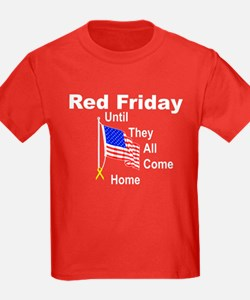 Red Friday (yellow ribbon) T
