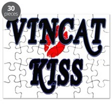 VinCat Kiss Logo Puzzle