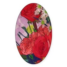 Painted Rose Garden Decal