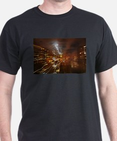 Dancing under the night sky T-Shirt