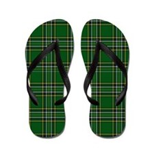 Irish National Tartan Flip Flops
