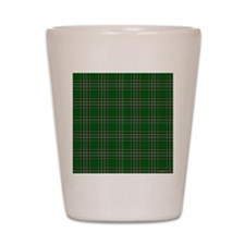 Irish National Tartan Shot Glass