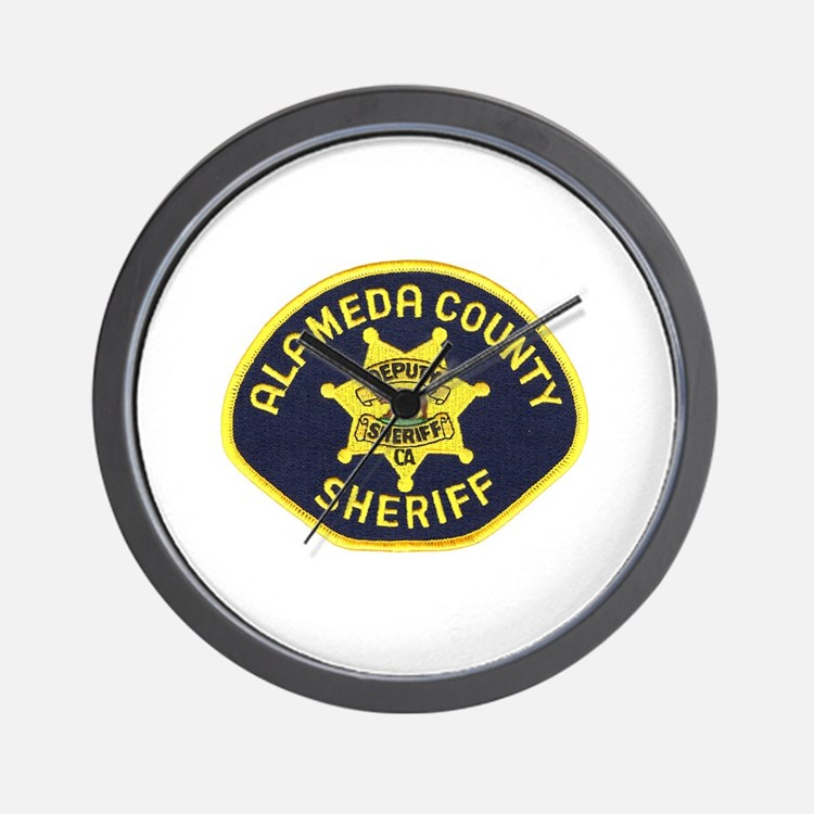 Alameda County Sheriff Wall Clock