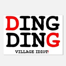 DING DING! Postcards (Package of 8)