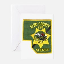 Elko County Sheriff Greeting Cards (Pk of 10)