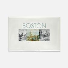 boston2tran Rectangle Magnet