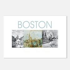 boston2tran Postcards (Package of 8)
